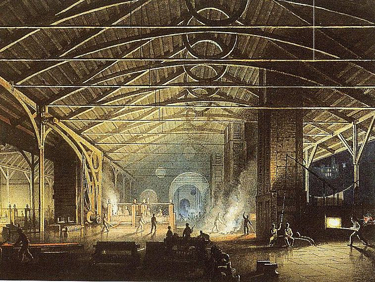 Artistic Impressions Of Nineteenth Century Industrial South Wales