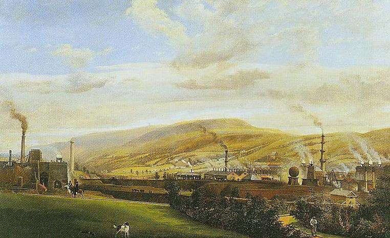 South Wales Landscape Wales Industrial Landscape